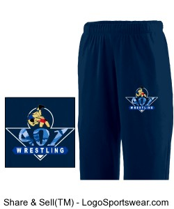 Adult Wicking Fleece Sweatpant Design Zoom